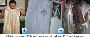 Wedding Dress Transformation